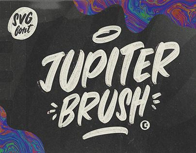 JUPITER BRUSH FONT