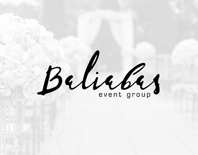 """Website for event company """"Baliabas Event Group"""""""