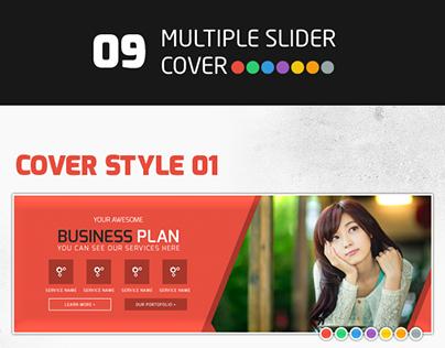 9 Multiple Slider Cover Template