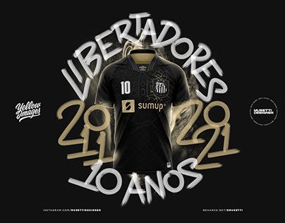 Santos FC - Kit Concept - 10 Anos do Tri