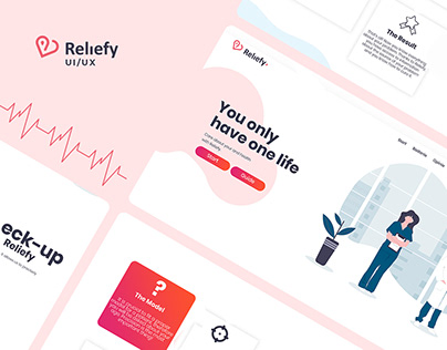 Reliefy - Medical Project UI/UX