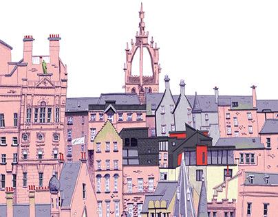 Edinburgh Skyline 01