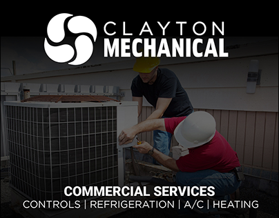 Clayton Mechanical Branding