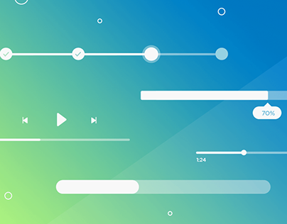 Web & mobile UI design: Progress bars