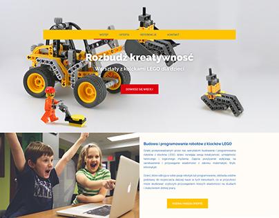 LEGO bricks workshops for children website