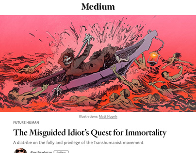 'Future Human' edition of Medium's e-Magazine