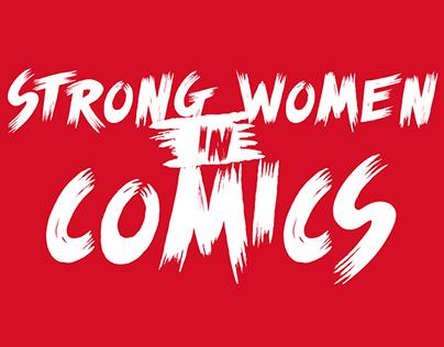 Strong Women in Comics