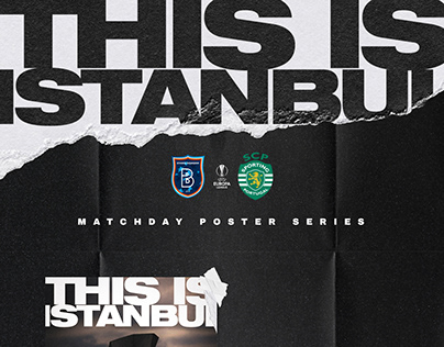 THIS IS ISTANBUL / Basaksehir FK Matchday Poster Series