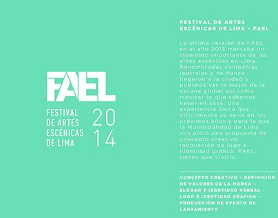 FESTIVAL DE ARTES ESCÉNICAS DE LIMA - FAEL