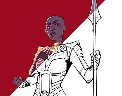 Wakanda Forever - Okoye