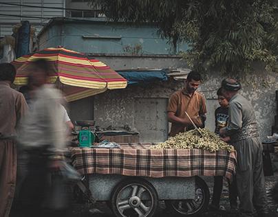Street life in Iraqi Kurdistan.