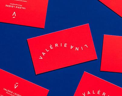 Valeri Lina Logo and stationery