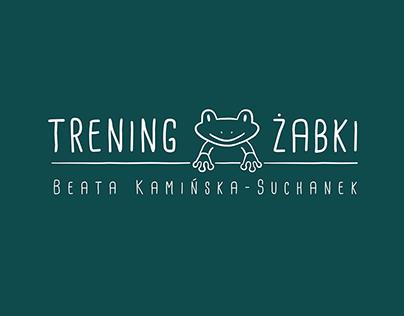 Trening żabki - logo