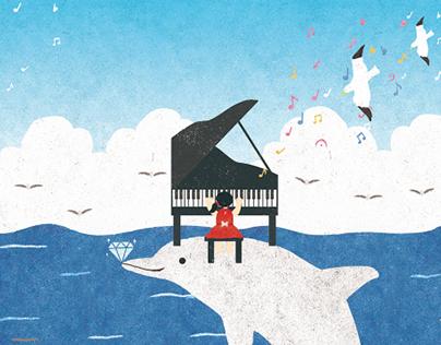 主視覺插畫設計|illustration for Music concert