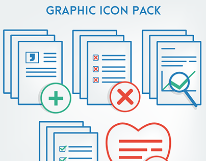 Graphic Icon Pack - Icon Design & Vector Illustration