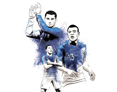 2018 World Cup Illustrations