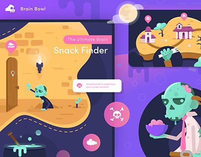 Zombie Snack App