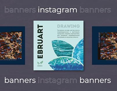 Banner for instagram