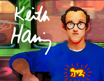 Adobe x Keith Haring / Adobe Creative Cloud