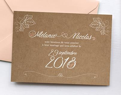 [ PRINT ] Mélanie & Nicolas