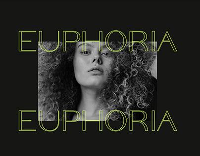 EUPHORIA   beauty salon logo