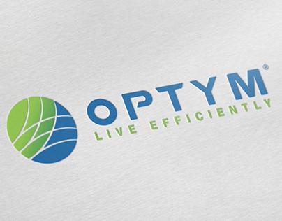Optym Logo rebrand