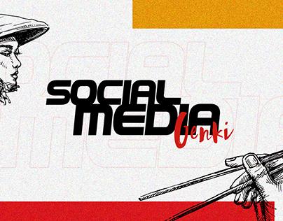 Social Media | Genki Sushi