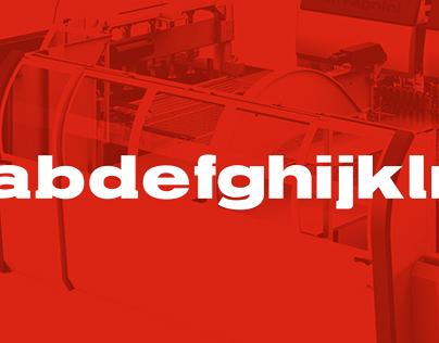 Salvagnini — Typeface design