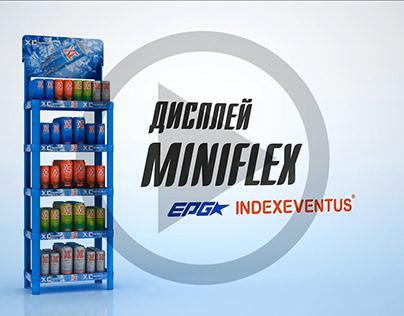 Video presentation of posm display miniflex