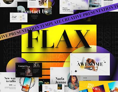 Flax Modern PowerPoint Template