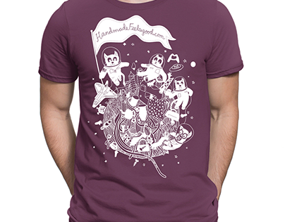 Catstronauts Illustration