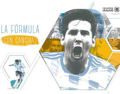 Sistema editorial - Guía Copa América 2015