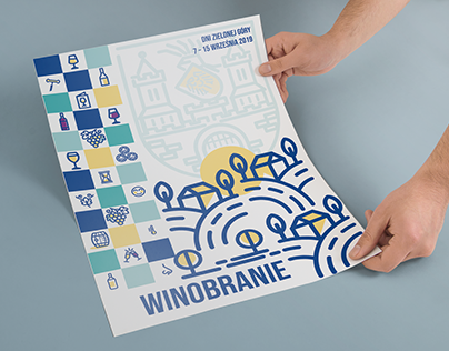 Poster - concept. Plakat Winobranie 2019