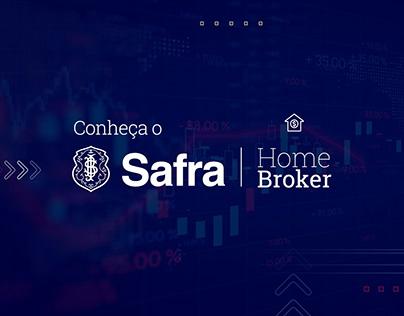 Tutoriais Safra Home Broker