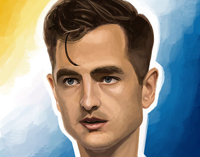 robbie rogers caricature