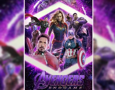 Fan poster avengers