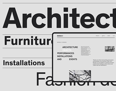 Architectural bureau | Website redesign