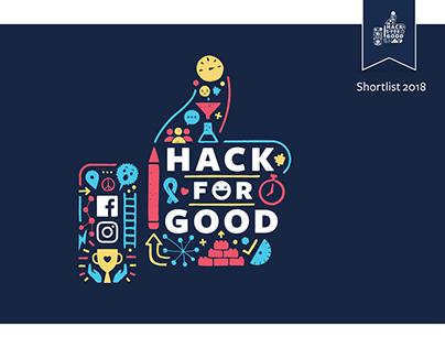 Facebook Hack for Good | Shortlist 2018