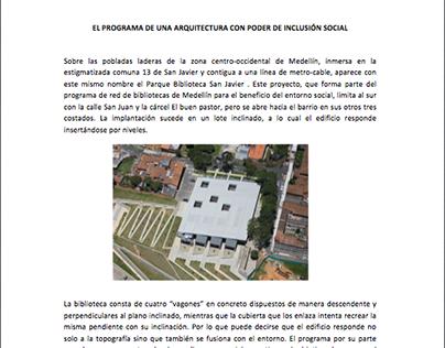 SEMINARIO // ARQUITECTURA LATINOAMERICANA