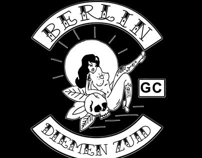 Mural + shirt design - Berlin Grandcafé Diemen Zuid