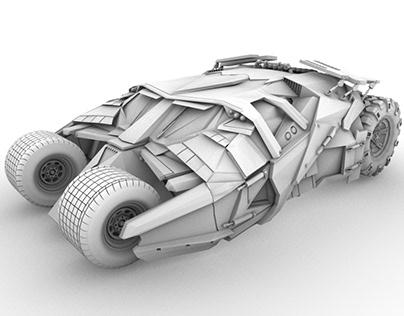 The Tumbler Batmobile 2014