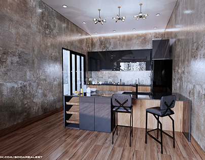 INTERIOR DESIGN PROJECT | VISUAL RENDERING