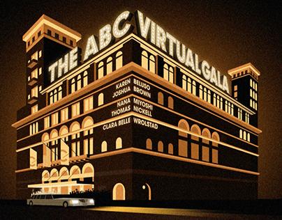 The ABC Virtual Gala animation