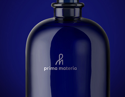 Logotype for Prima Materia Parfume
