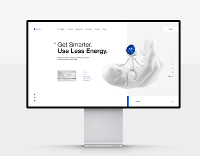 Ambiq - Branding, Website & Illustrations