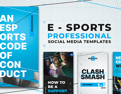 Social Media Content For Gaming Team