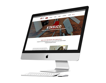 KOKELICO - WEBSITE WEBDESIGN