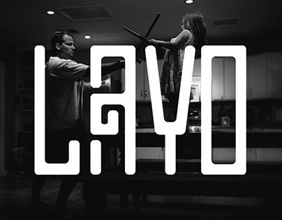 LAYO - typeface