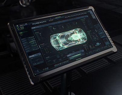 Vehicle Concept FUI