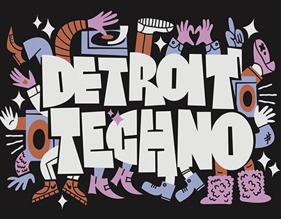Movement Detroit 2018 Merch